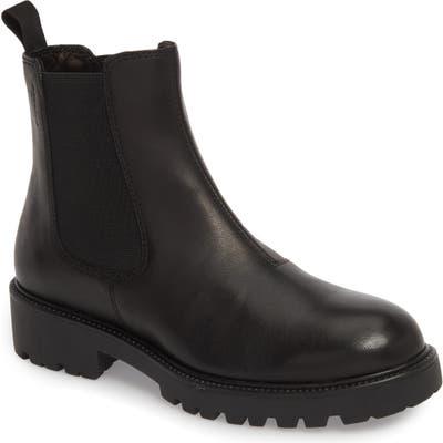 Vagabond Kenova Lugged Chelsea Boot - Black