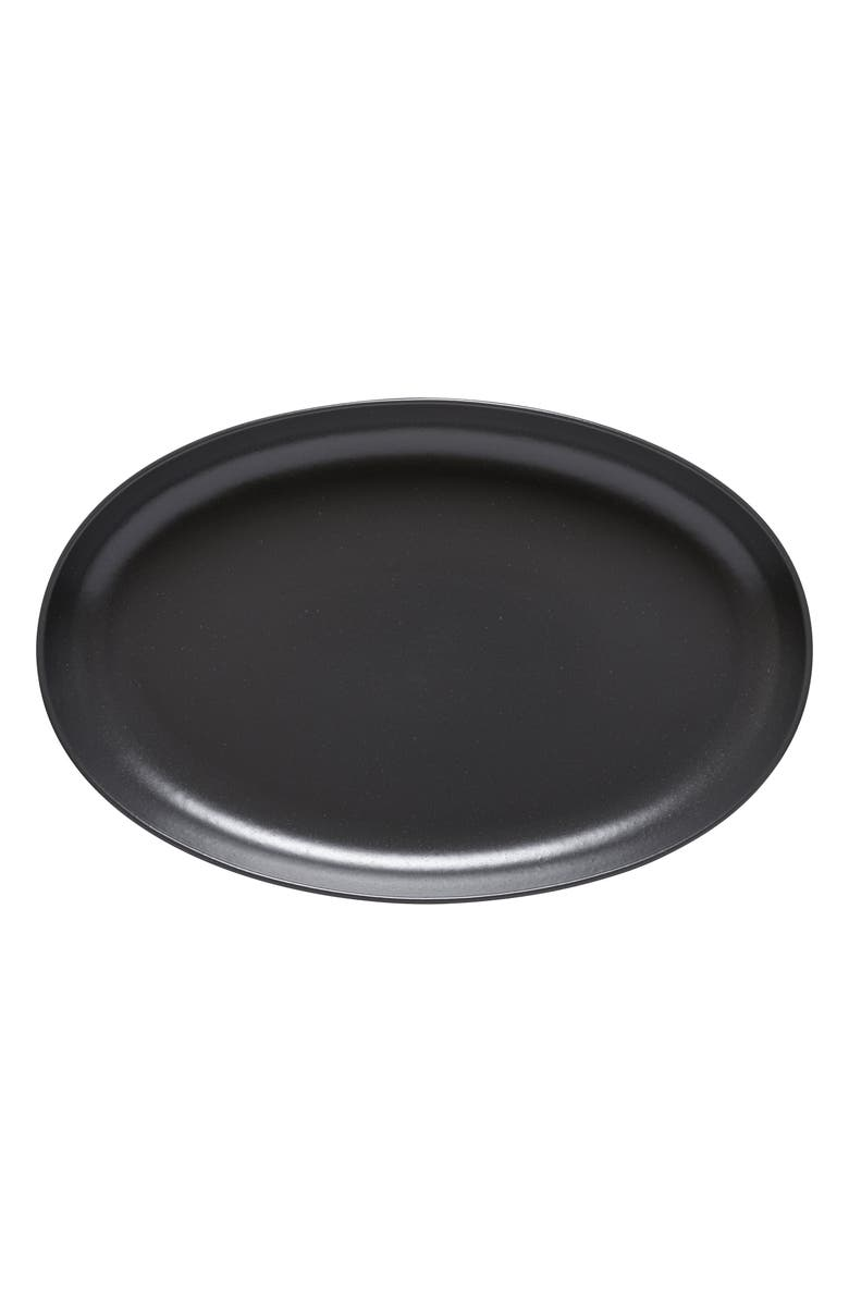 CASAFINA Pacifica Oval Platter, Main, color, SEED GREY