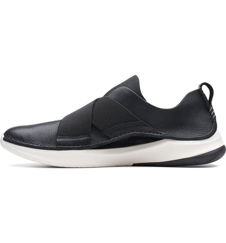 CLARKS<SUP>®</SUP> Privolutionex Sneaker, Main, color, BLACK