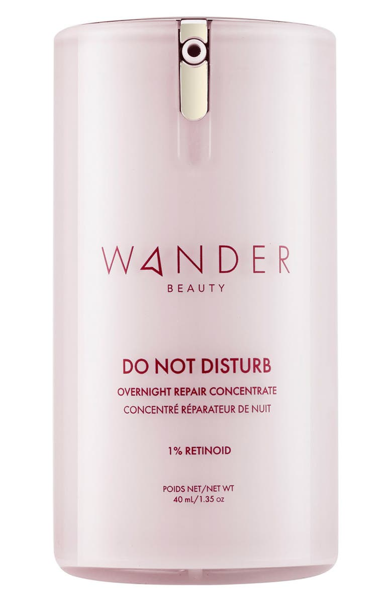 WANDER BEAUTY Do Not Disturb Overnight Repair Concentrate, Main, color, NO COLOR