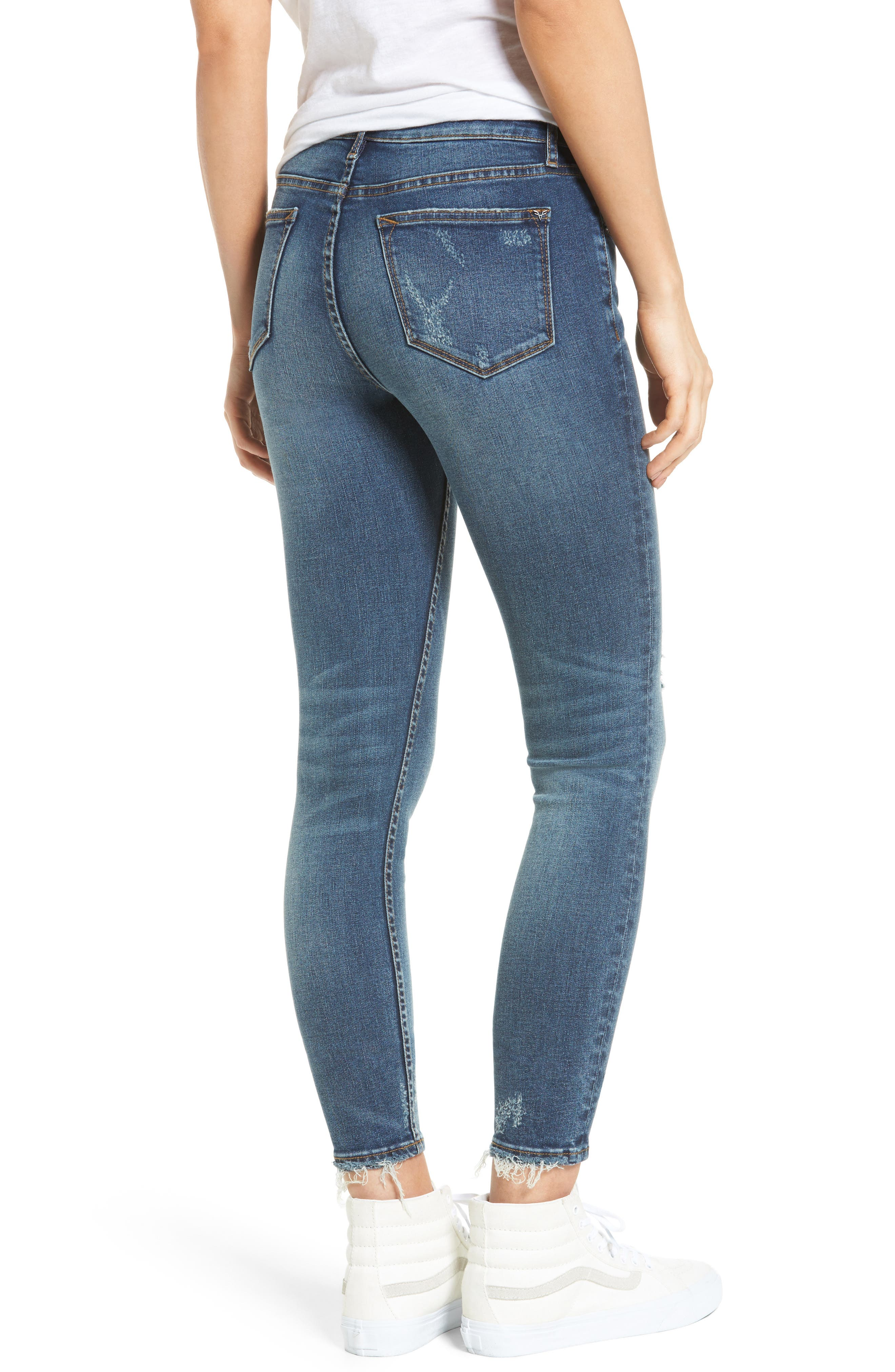 ,                             Jagger Ripped Skinny Jeans,                             Alternate thumbnail 2, color,                             400