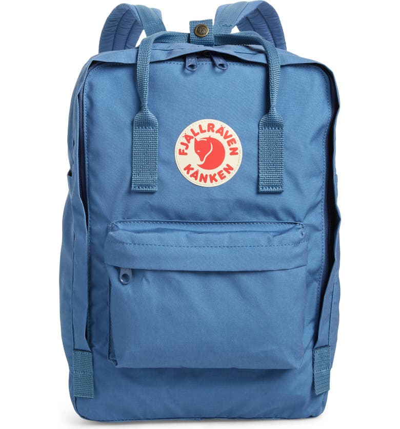 FJÄLLRÄVEN Kånken 15-Inch Laptop Backpack, Main, color, BLUE RIDGE