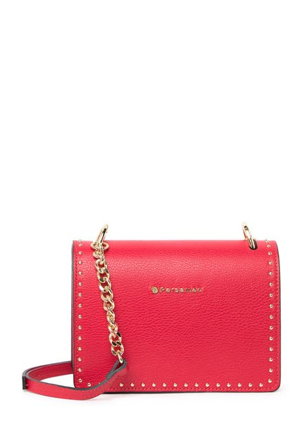 Image of Persaman New York Raphaelle Studded Leather Crossbody Bag