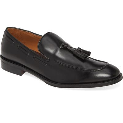 Bruno Magli Alfio Tassel Loafer- Black