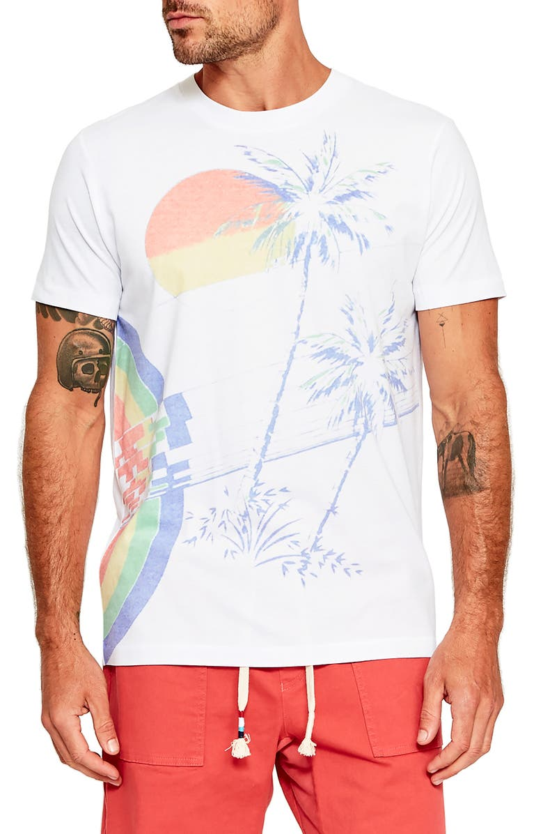 SOL ANGELES Sorbet Sunset T-Shirt, Main, color, SORBET SUNSET