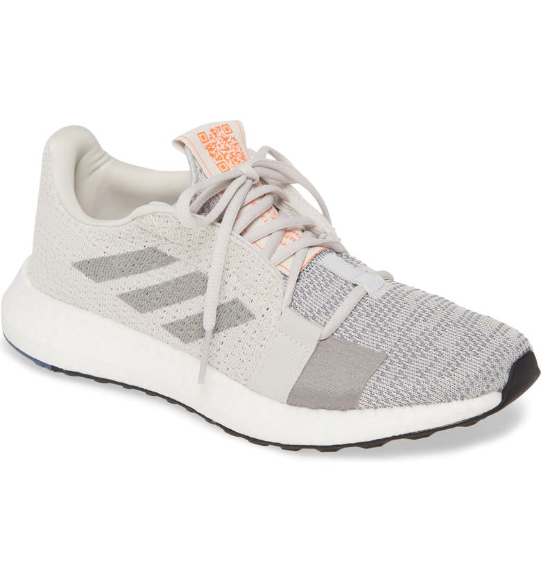 ADIDAS SenseBoost Go Running Shoe, Main, color, GREY