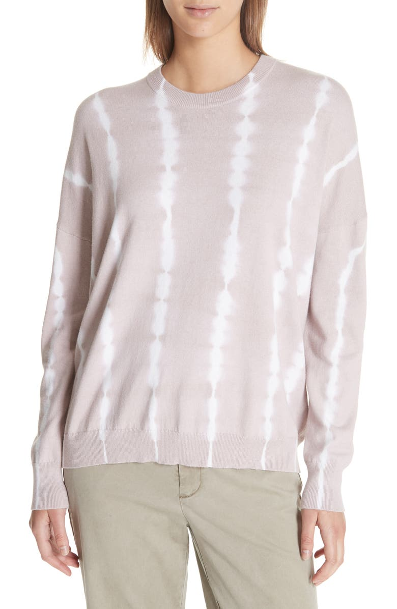 ATM ANTHONY THOMAS MELILLO Tie Dye Cotton & Cashmere Sweater, Main, color, 659