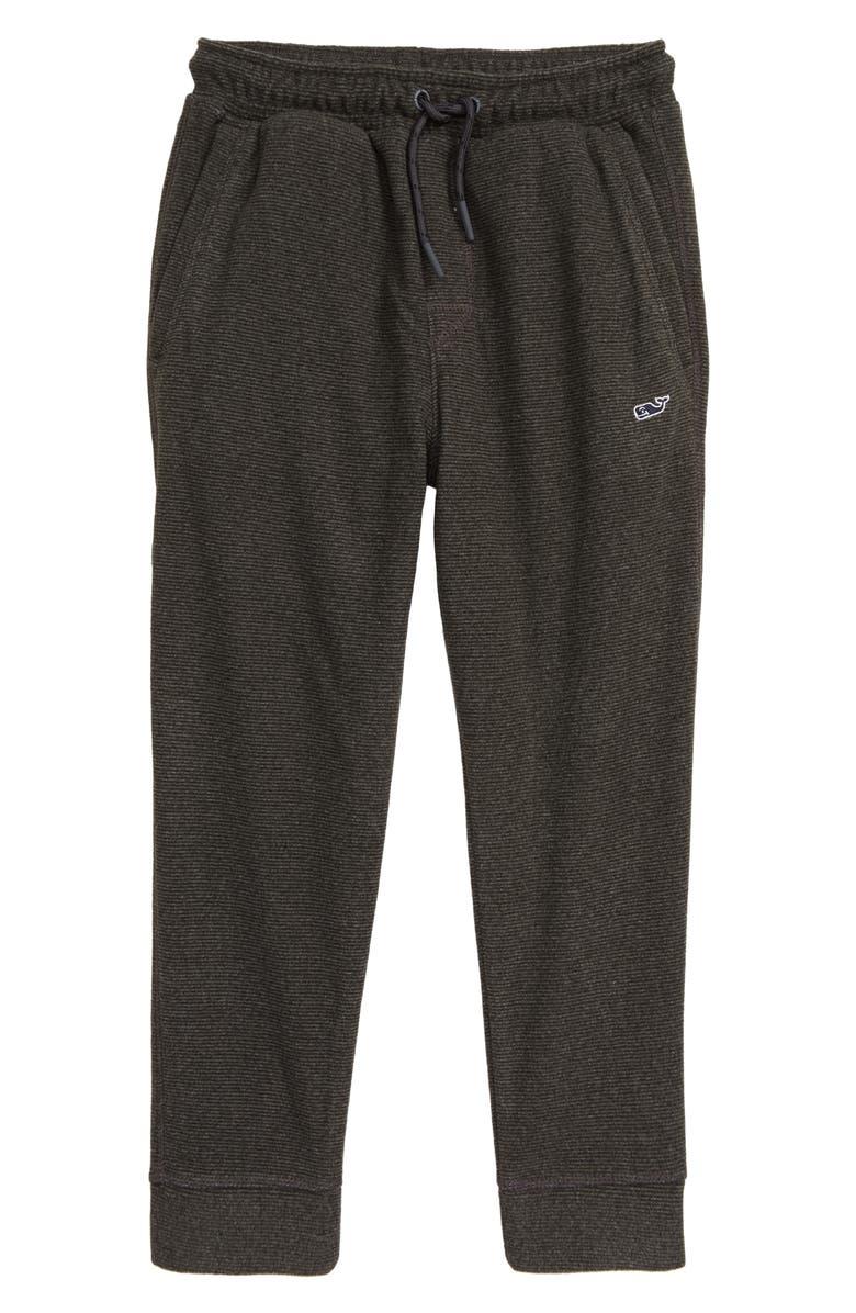 VINEYARD VINES Fleece Jogger Pants, Main, color, EVENING SKY