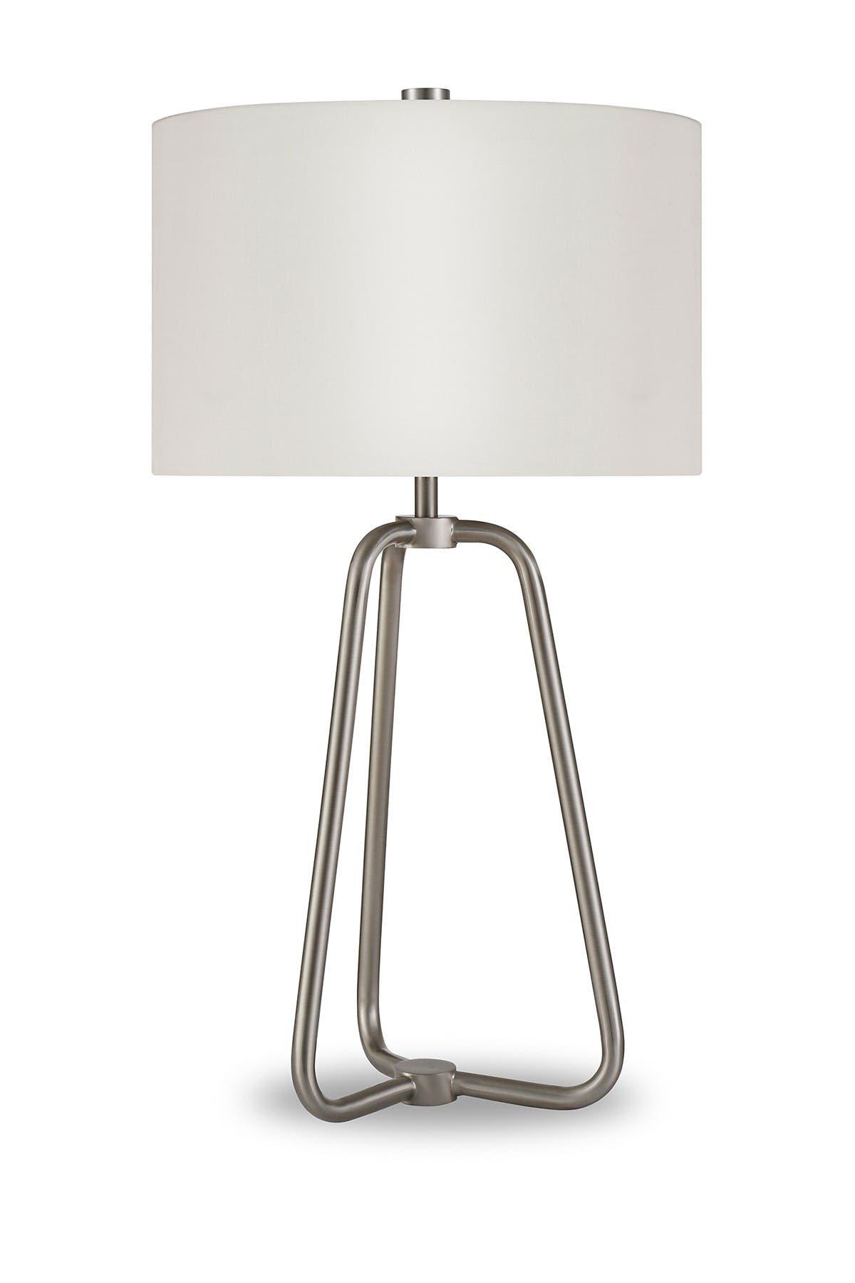 Image of Addison and Lane Marduk Table Lamp - Brushed Nickel