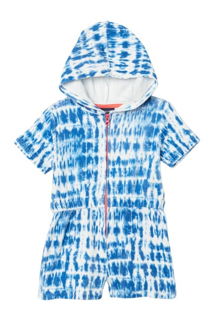 Image of Andy & Evan Terry Short Sleeve Hooded Coverup