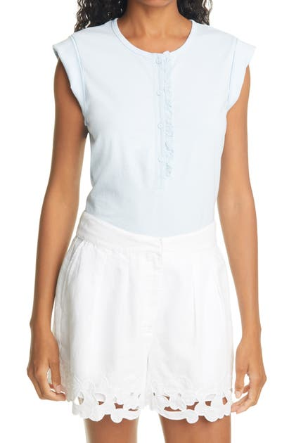 Rebecca Taylor CLEAN JERSEY TOP
