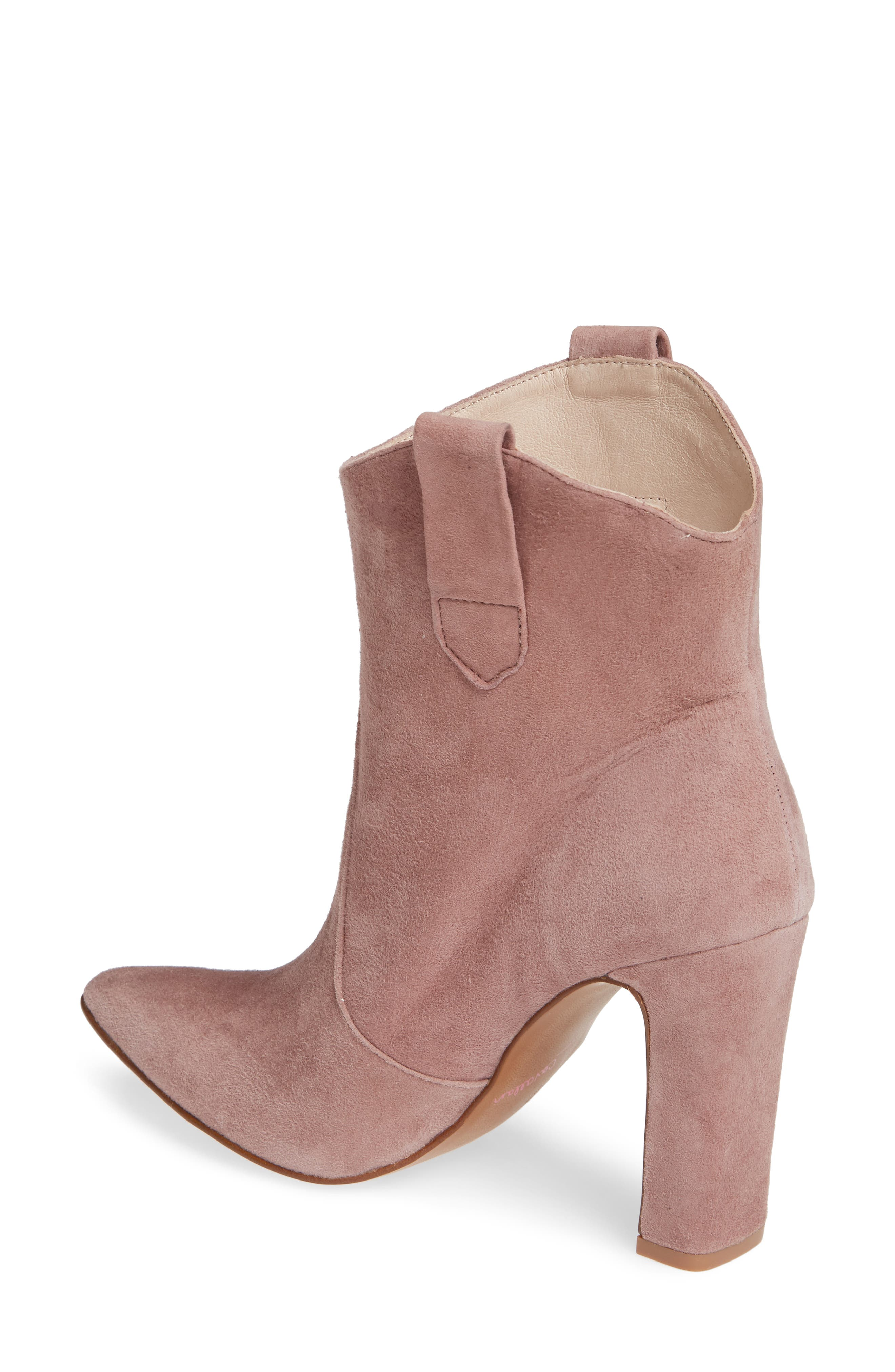 ,                             Karly Suede Bootie,                             Alternate thumbnail 14, color,                             500