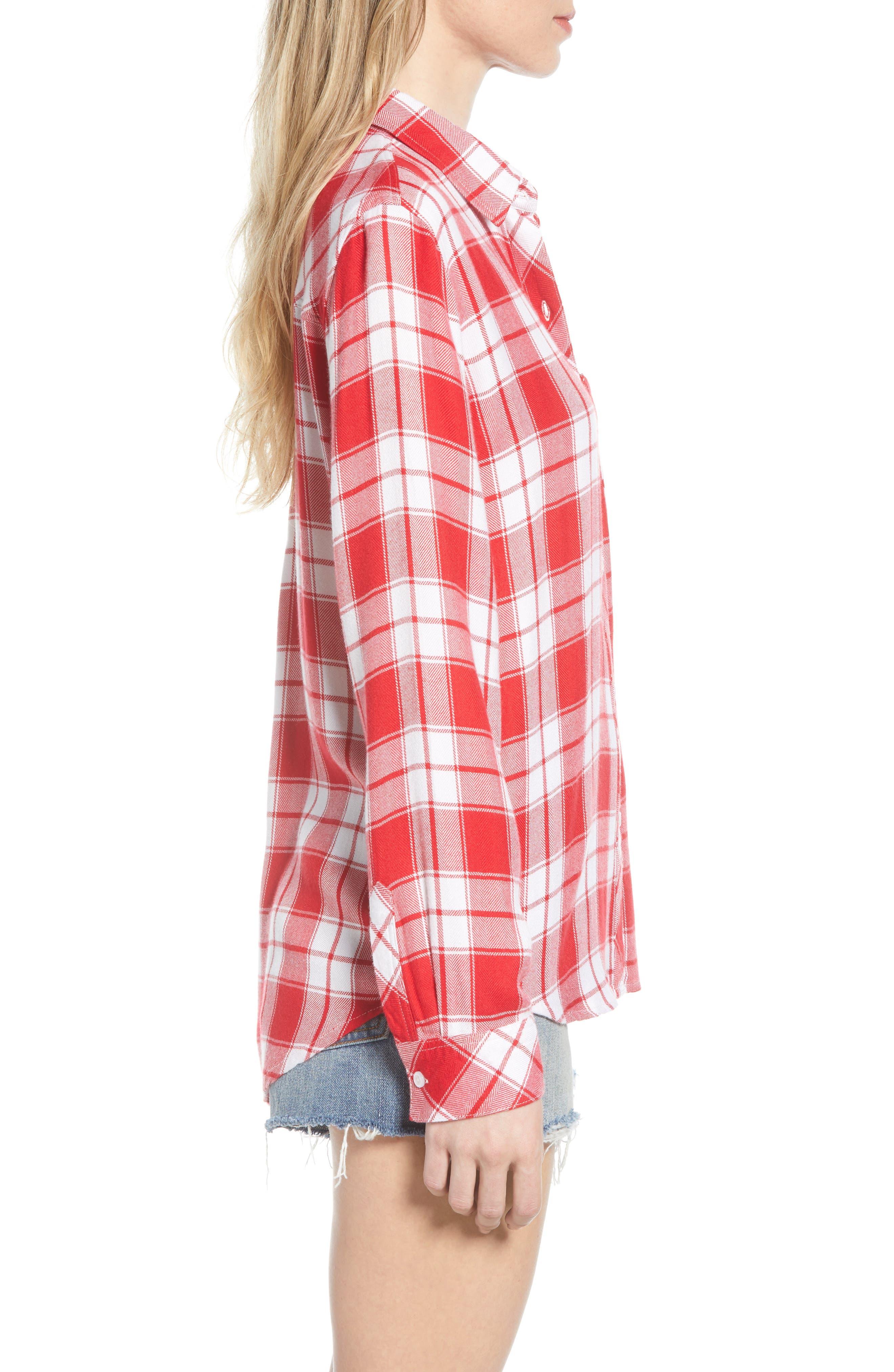 ,                             Hunter Plaid Shirt,                             Alternate thumbnail 182, color,                             609
