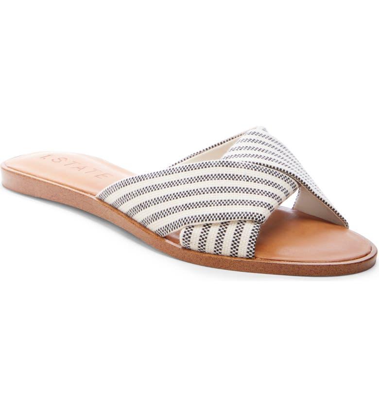 1.STATE Travor Slide Sandal, Main, color, 001