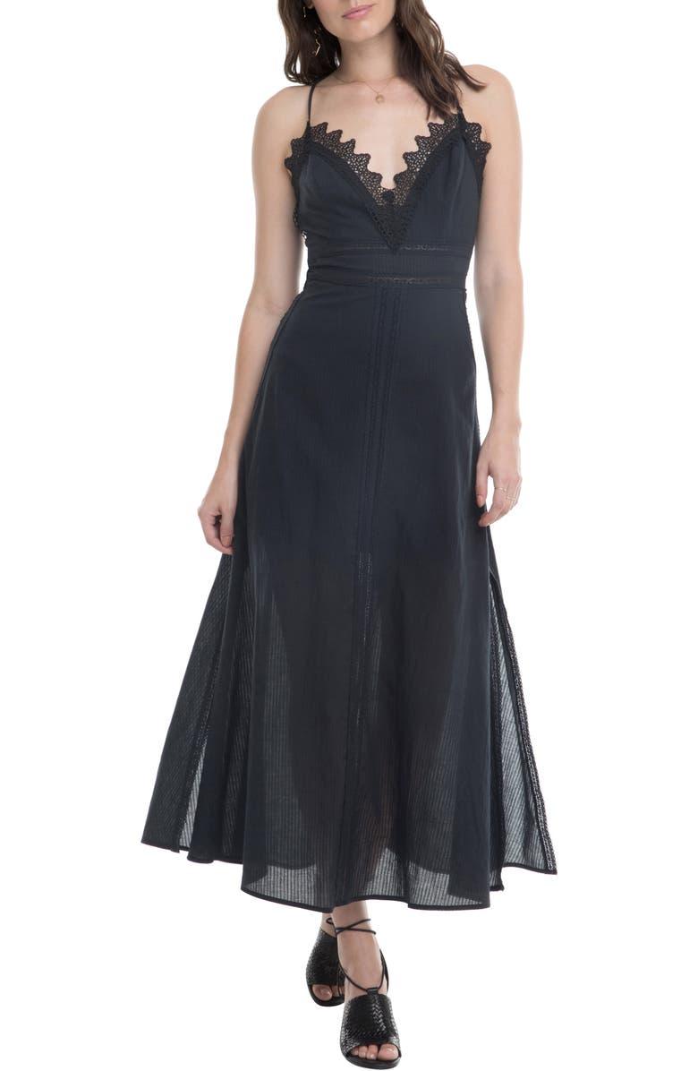ASTR THE LABEL Stefania Maxi Dress, Main, color, 001