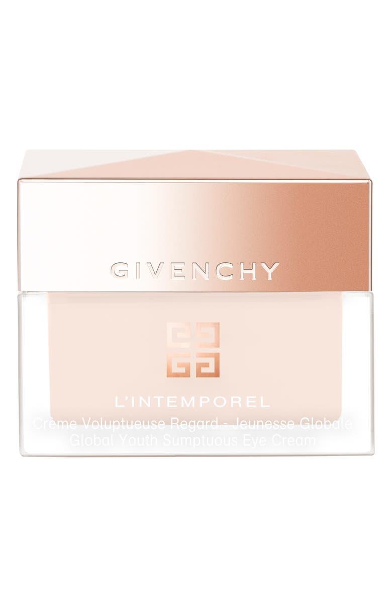 GIVENCHY L'Intemporel Global Youth Sumptuous Eye Cream, Main, color, NO COLOR