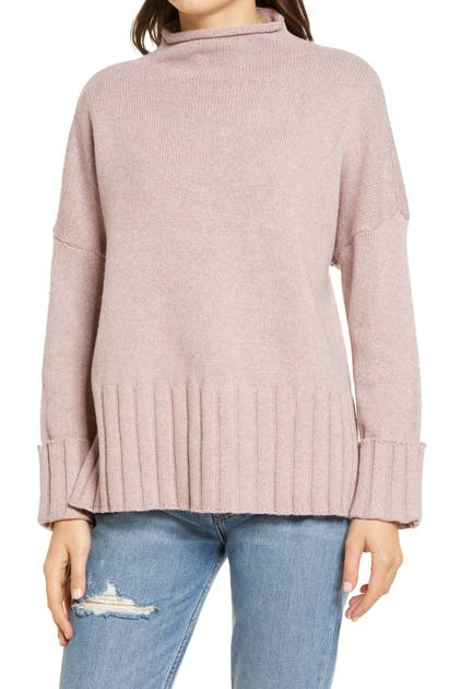 Madewell GLENMOOR MOCK NECK SWEATER