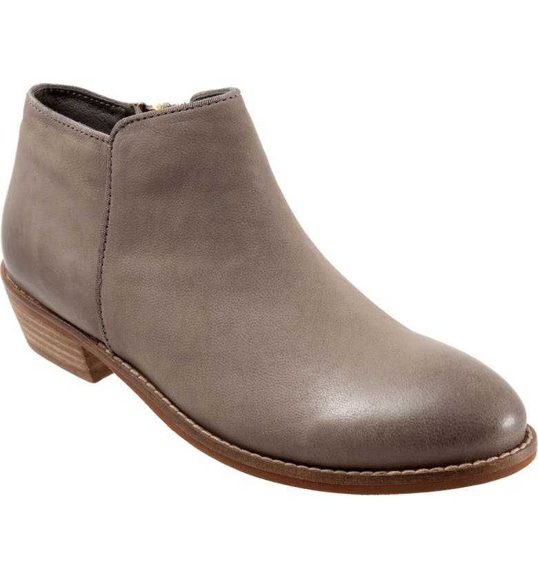 SOFTWALK<SUP>®</SUP> 'Rocklin' Bootie, Main, color, LIGHT GREY LEATHER