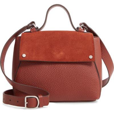 Treasure & Bond Mini Skyler Leather Satchel - Red