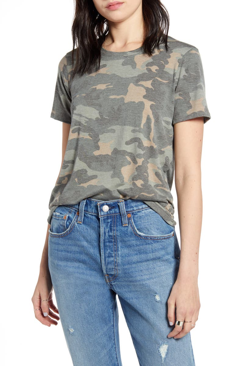PRINCE PETER Camouflage Tee, Main, color, ARMY CAMO