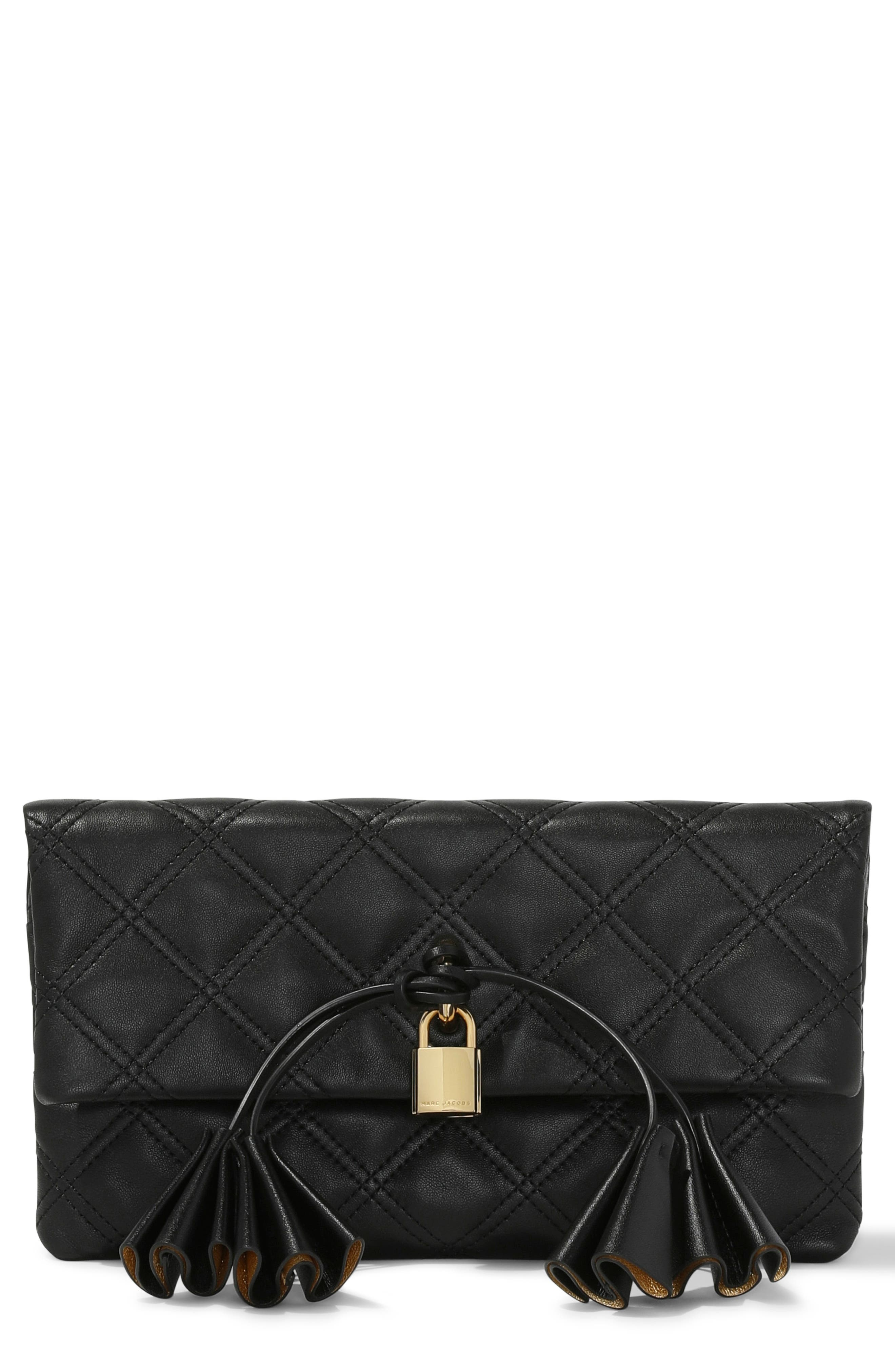 Image of THE MARC JACOBS The Leather Clutch
