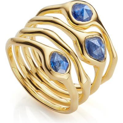 Monica Vinader Siren Cluster Cocktail Ring