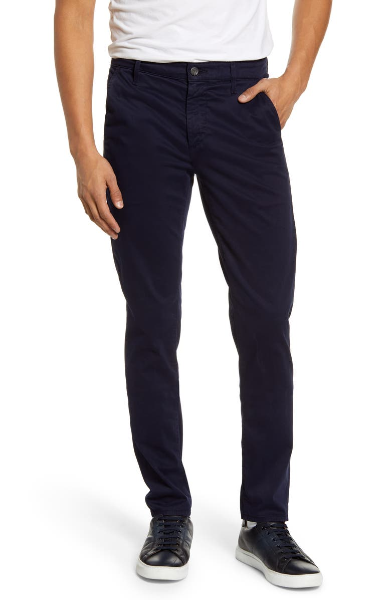 AG Jamison Slim Straight Leg Pants, Main, color, DEEP TRENCHES