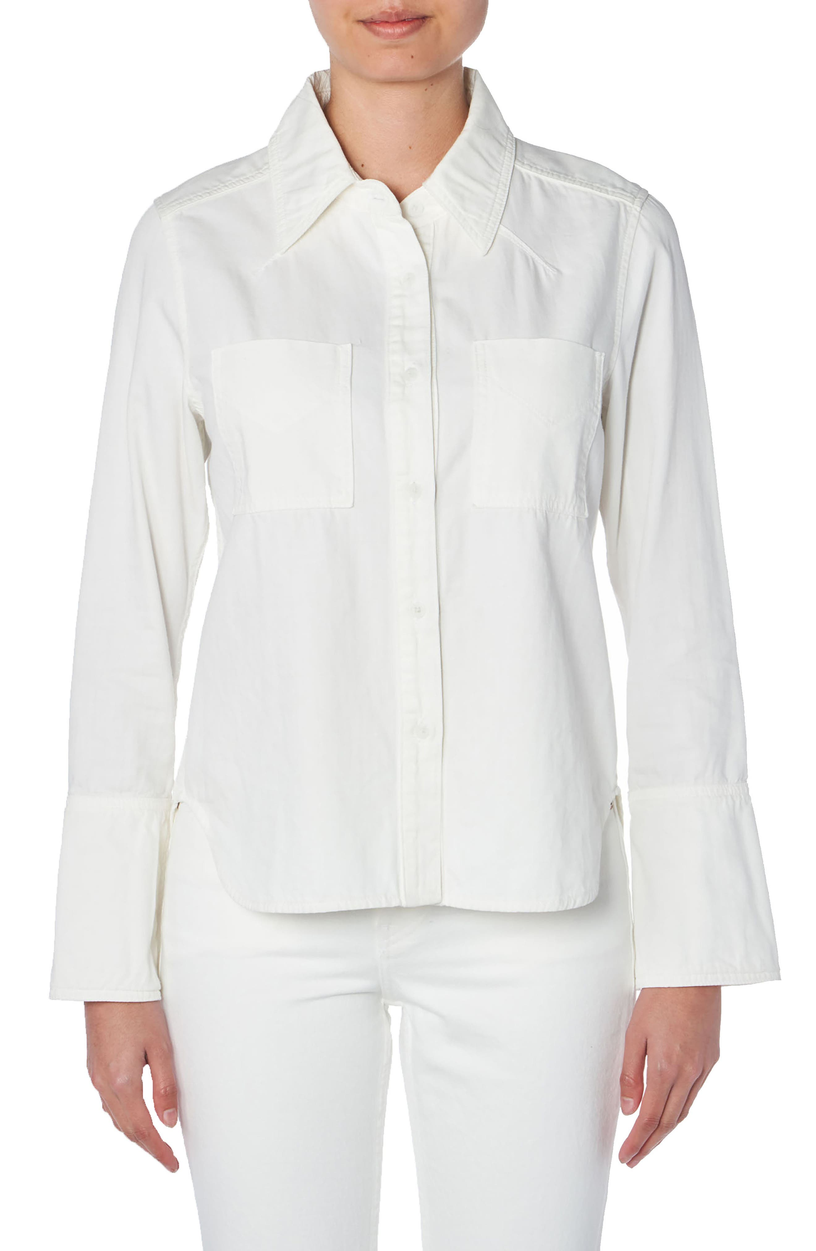 Image of TRAVE Octavia Cotton Button-Up Shirt