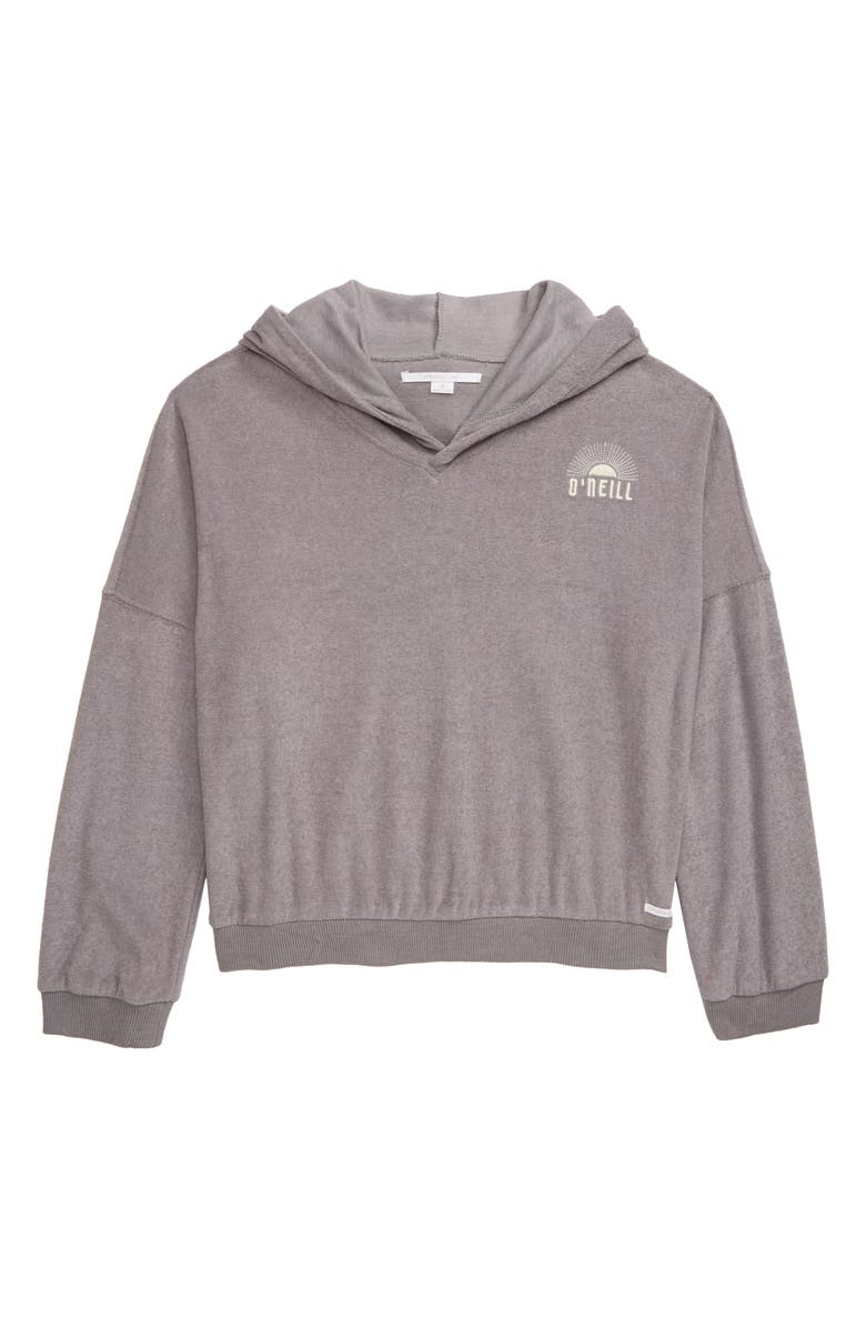 O'NEILL Pacifica Fleece Pullover, Main, color, GREY FOG