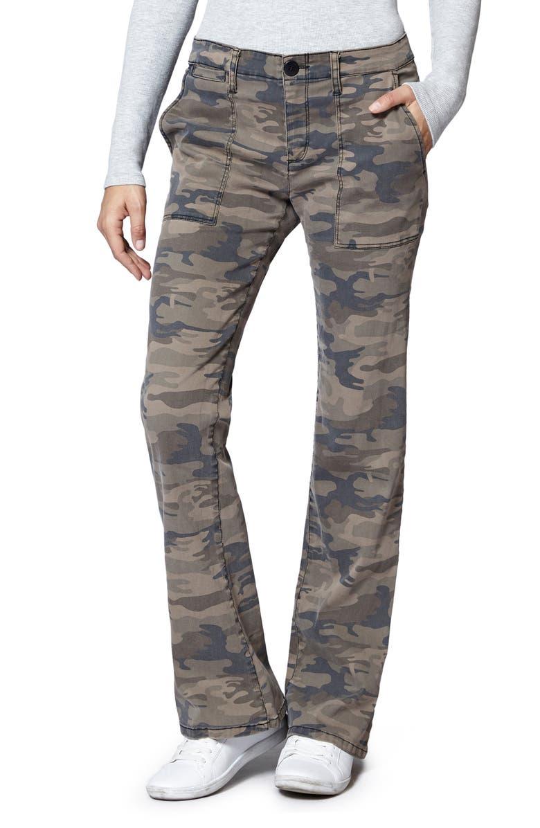 SANCTUARY Camo Print Chino Pants, Main, color, 300