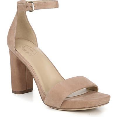 Naturalizer Joy Ankle Strap Sandal, Beige
