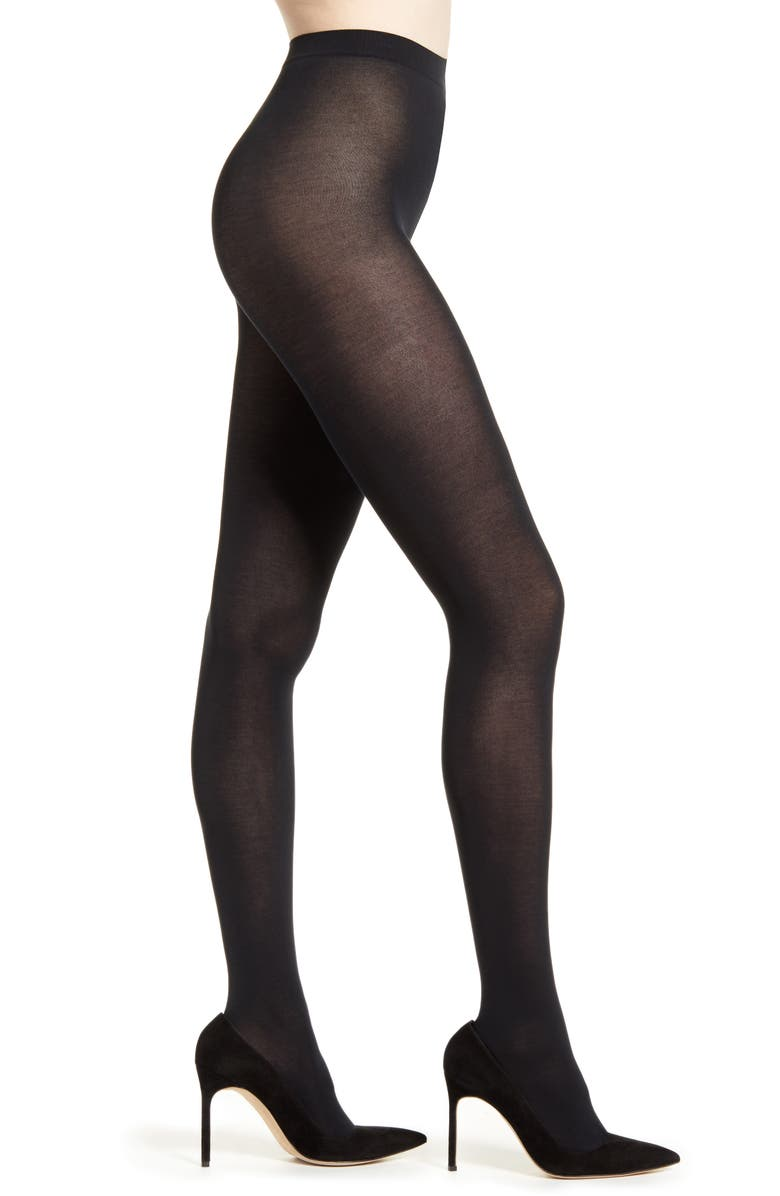 FALKE Cotton Touch 65 Opaque Tights, Main, color, 3009 BLACK