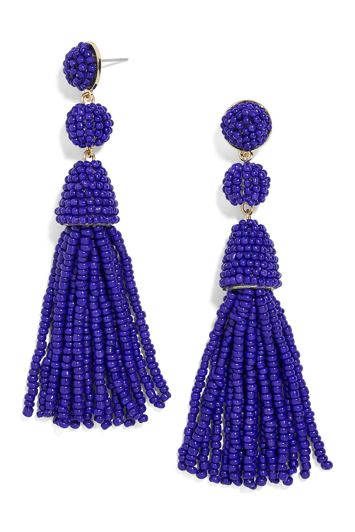 Image of BAUBLEBAR Granita Beaded Tassel Earrings