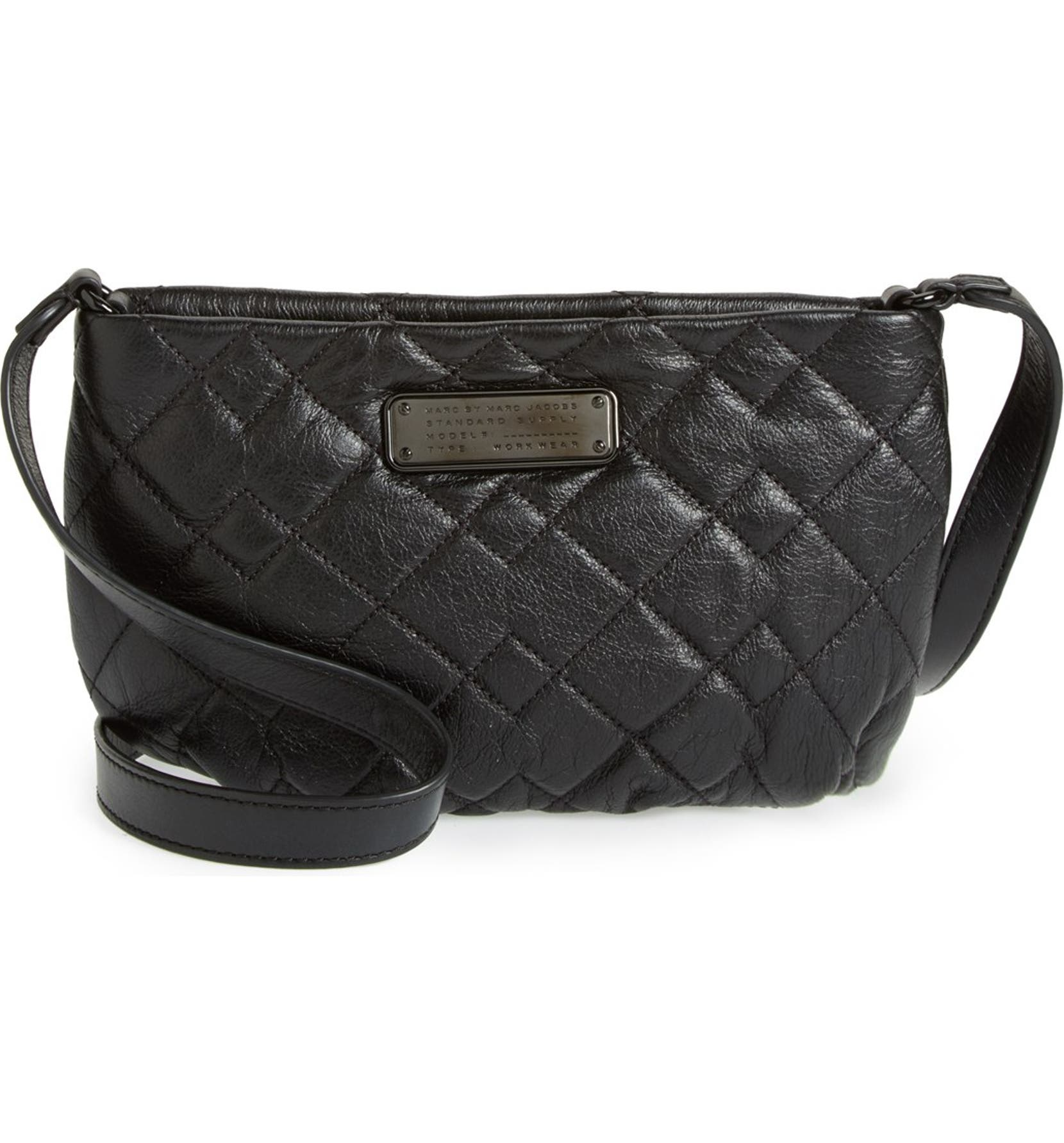 0a991713ea MARC BY MARC JACOBS 'New Q Quilted Percy' Leather Crossbody Bag | Nordstrom