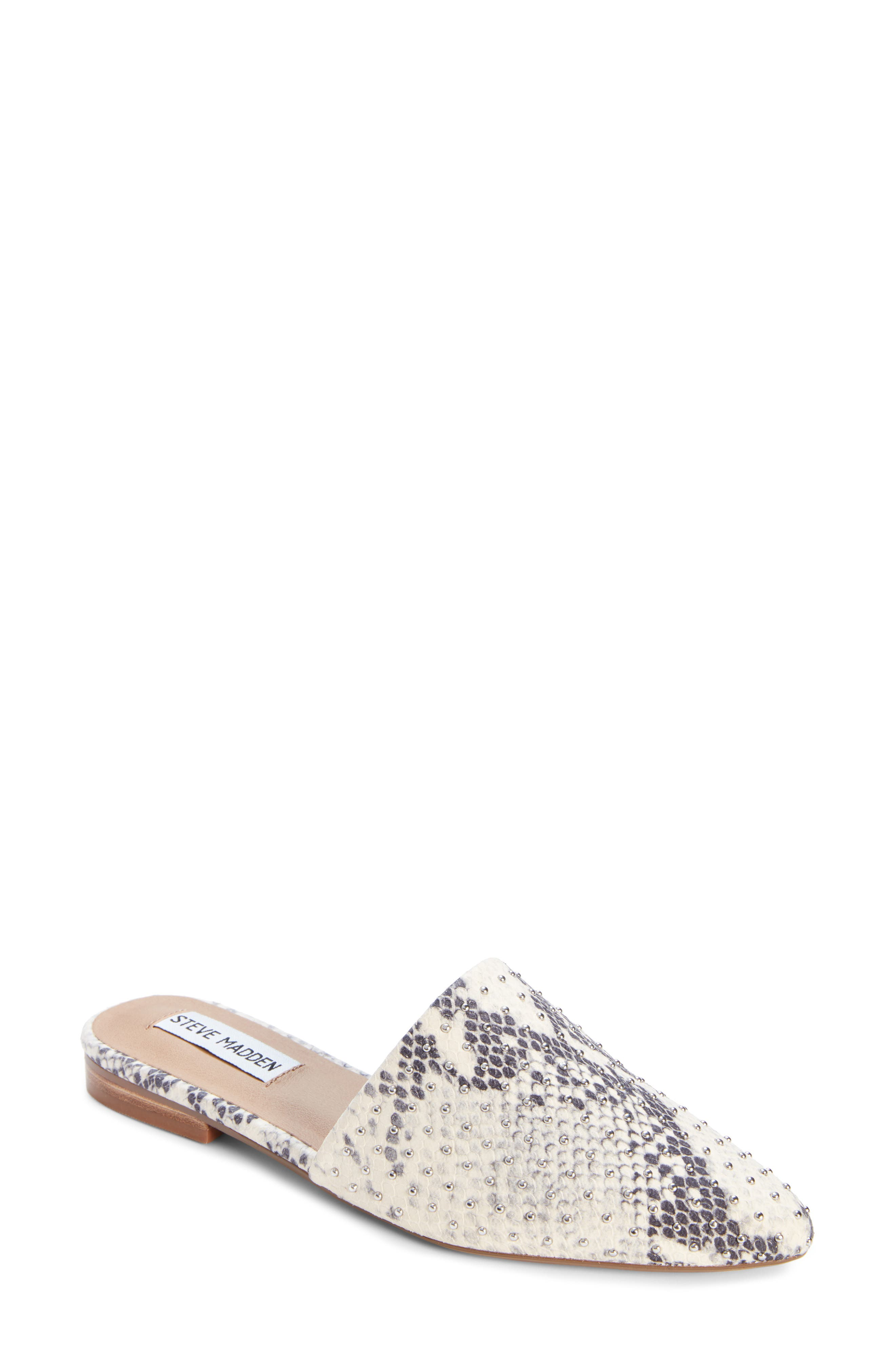 ,                             Trace Studded Mule,                             Main thumbnail 1, color,                             250