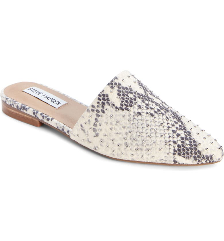 STEVE MADDEN Trace Studded Mule, Main, color, 250