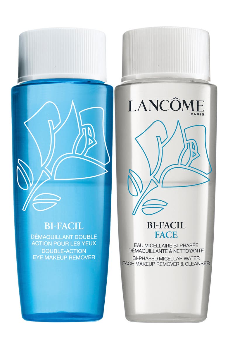 LANCÔME Bi-Facil Instant Makeup Remover Duo, Main, color, NO COLOR