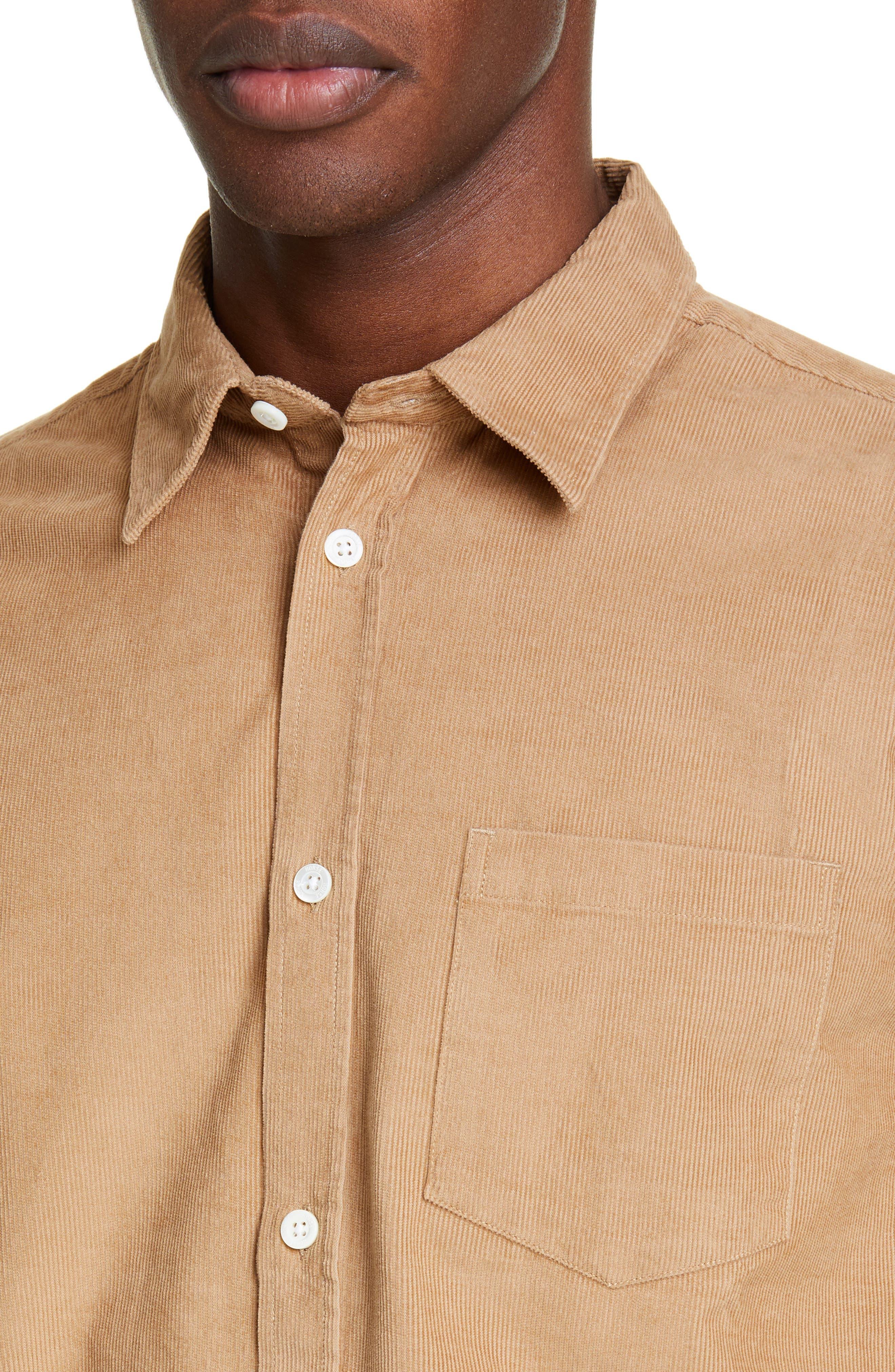 ,                             Osvald Corduroy Shirt,                             Alternate thumbnail 2, color,                             UTILITY KHAKI