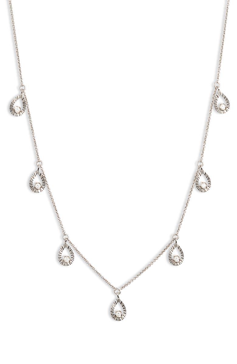 DANA REBECCA DESIGNS Mikaela Estelle Diamond Necklace, Main, color, 711
