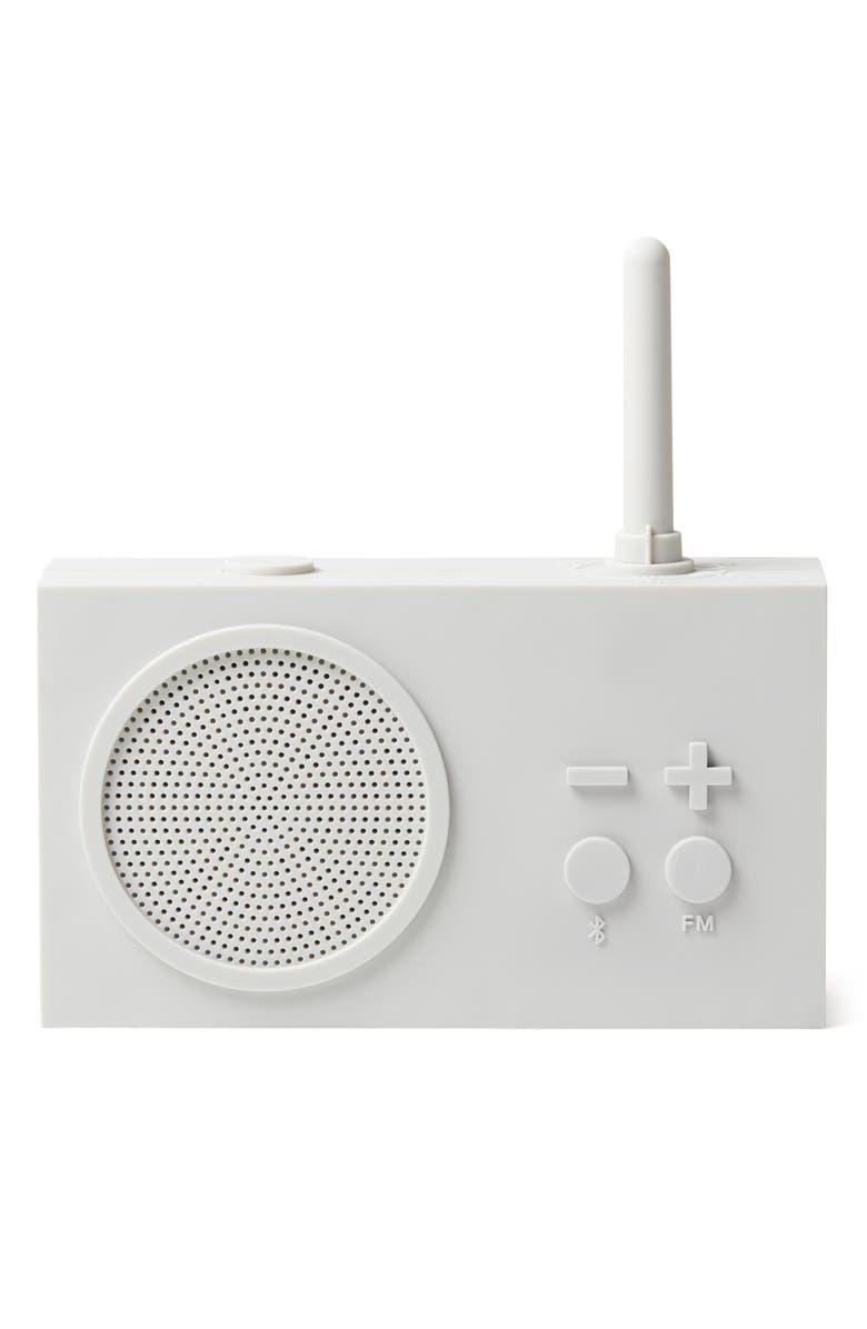 LEXON Tykho 3 FM Radio & Bluetooth<sup>®</sup> Speaker, Main, color, WHITE