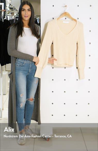 Mila Ribbed Crop Sweater, sales video thumbnail