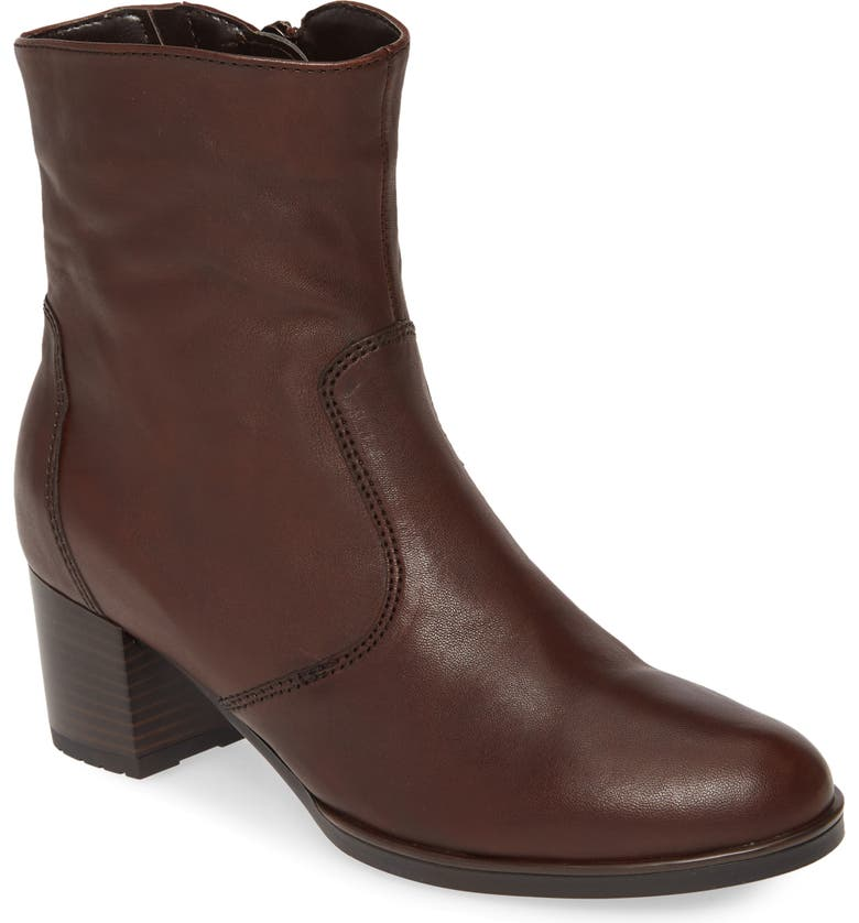 ARA Fiorella Bootie, Main, color, MORO LEATHER