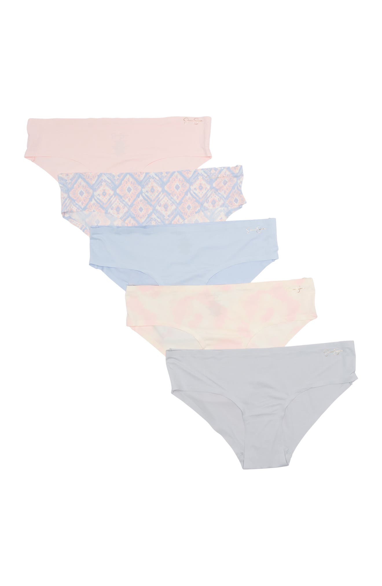 Image of Jessica Simpson Micro Bonded Hipster Panties - Set of 5