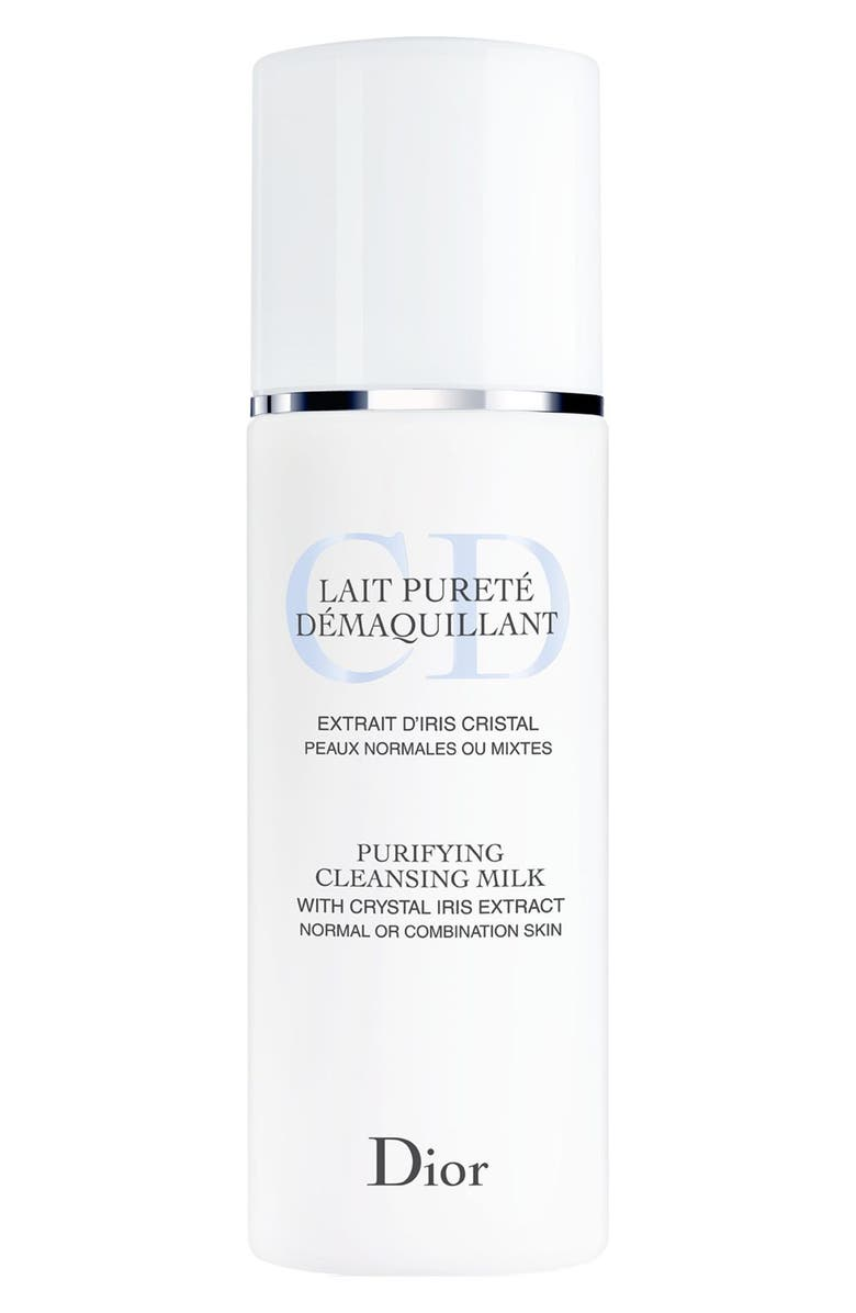 DIOR Purifying Cleansing Milk for Normal or Combination Skin, Main, color, 000