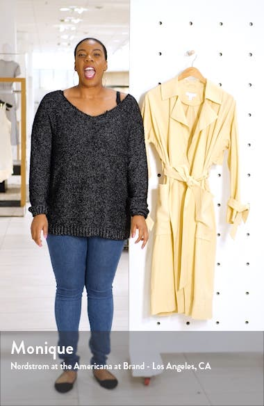 Belted Duster Coat, sales video thumbnail