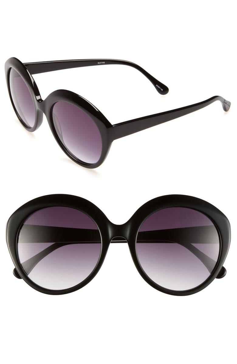 ELIZABETH AND JAMES 'Francis' 54mm Sunglasses, Main, color, 001