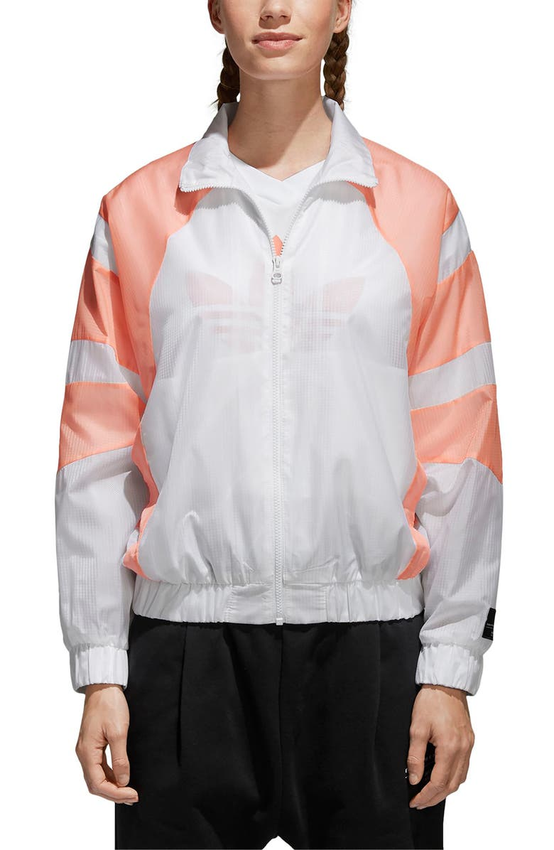 ADIDAS EQT Track Jacket, Main, color, 100
