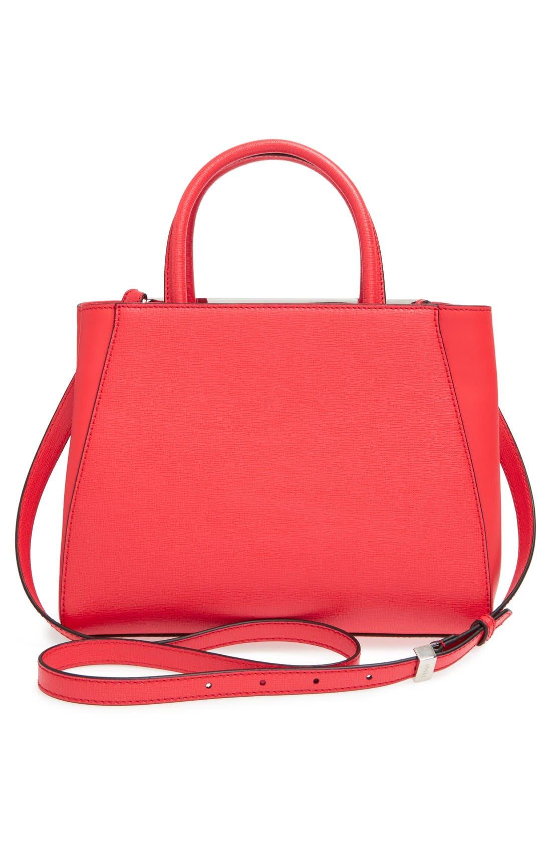 ,                             'Petite 2Jours Elite' Leather Shopper,                             Alternate thumbnail 124, color,                             951
