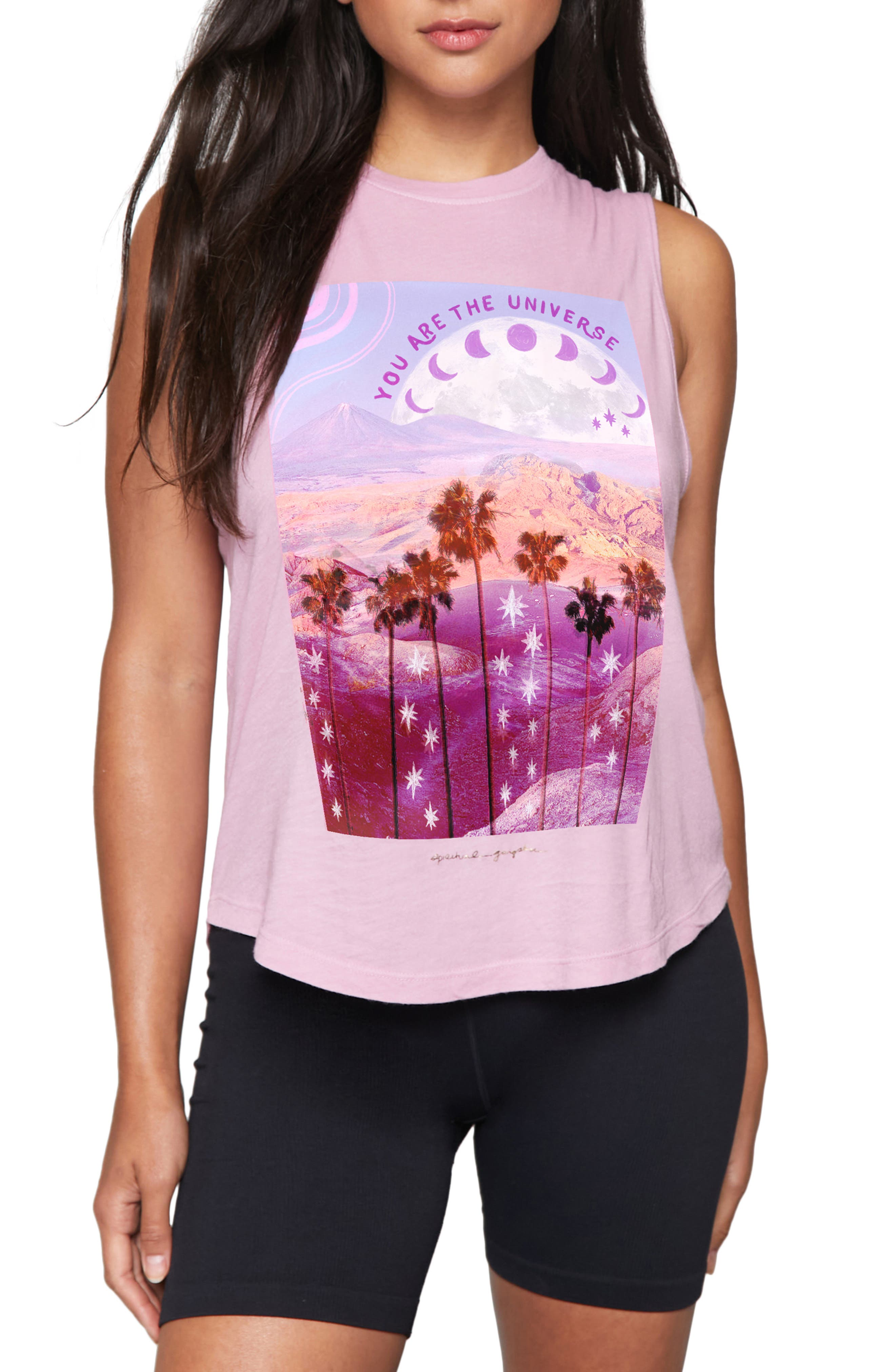 Spiritual Gangster Universe Muscle Graphic Tee | Nordstrom