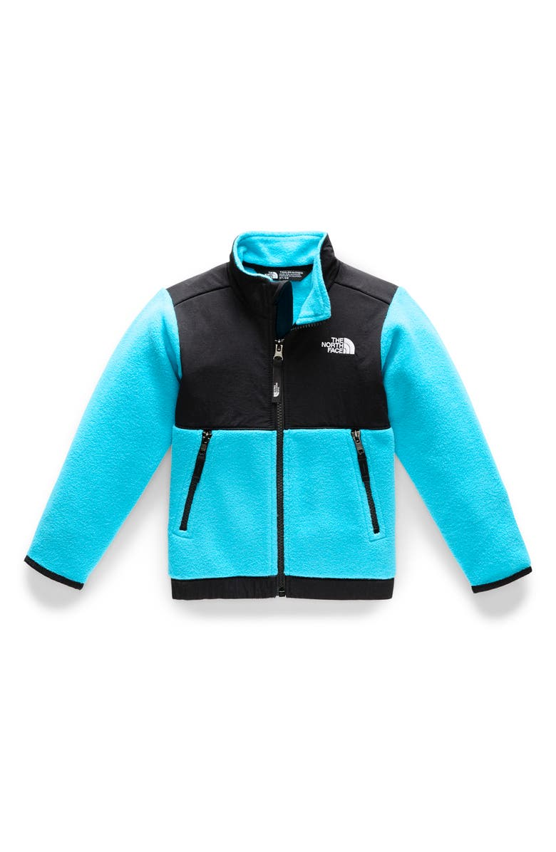 THE NORTH FACE Denali Fleece Jacket, Main, color, TURQUOISE BLUE